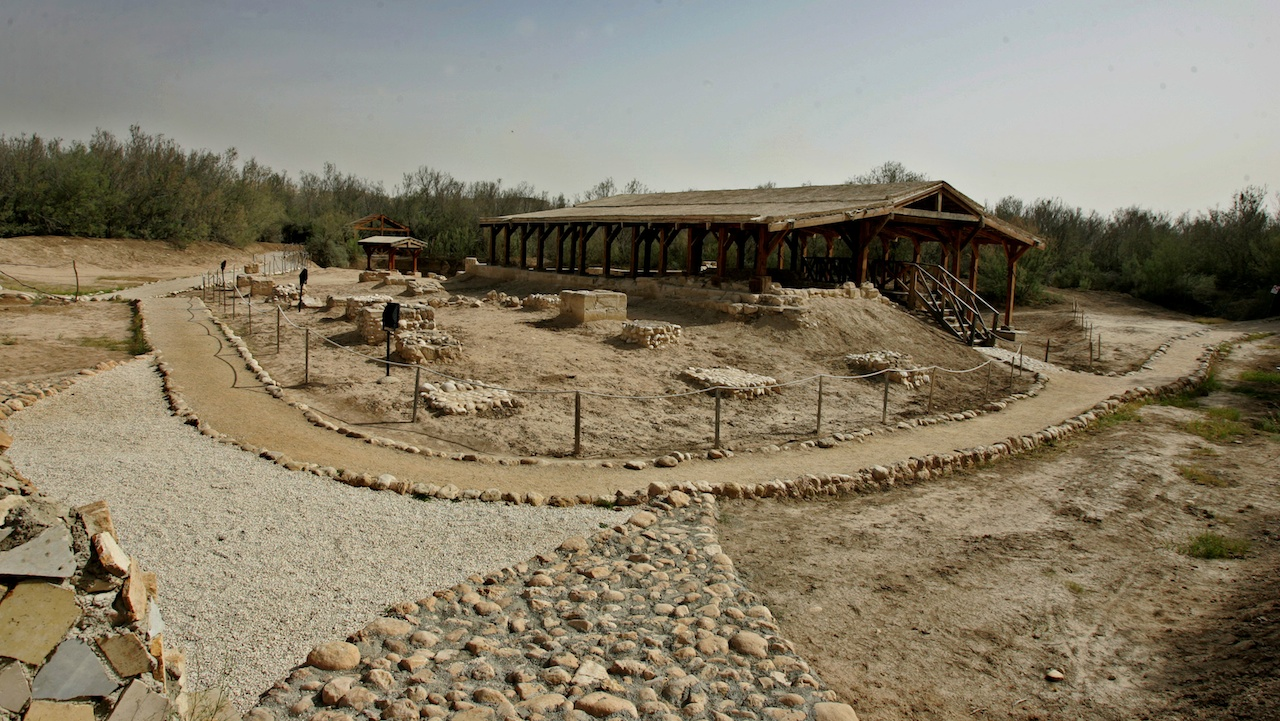 716269c42b9504 The place where Jesus was baptized – Baptism Site